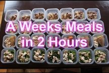 Weekly meal plans / by Cynthia Filip