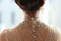 Wedding Style ~ Bride Crown Cloth  / by Ruby Fong