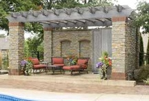 Pergolas / Inspiration and ideas for back yard and front yard pergolas. To see over a thousand photos of pergolas and patio covers, visit: http://www.landscapingnetwork.com/pergolas/ / by Landscaping Network