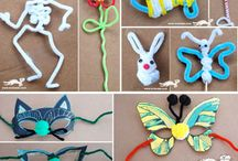 Pipecleaner Crafts / by Art Projects for Kids