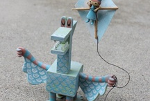 Vinyl, plastic and plush / by Jeanette Smith