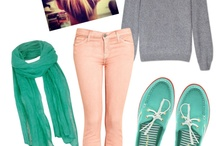 Clothes / Style inspiration and a wardrobe wish list! / by Lucy Keller
