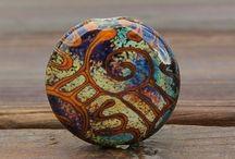 Lampwork beads / Beads / by Karen Arns