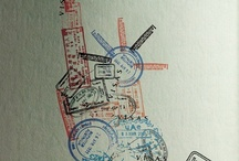 Postage Stamps & Cancelation Marks / by Tracy (Tandy) Anderson