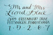 Calligraphy / by Laura Loveberry