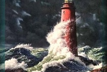 LIGHTHOUSES / The Lord is a lamp unto my feet and a light unto my path... / by Julie Futch
