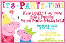 Peppa Pig Ideas / by Megan Elliott
