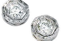 Moissanite Earrings & Bracelets / by Joy Jewelers