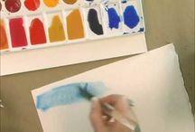 watercolor videos / by Karen Brown