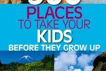 Travel/Vacation Ideas / by Melinda Curran