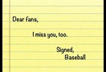 Baseball / Softball Love / Self explanatory... All baseball, all the time! Just the way I like it! ❤️⚾️ / by Chris Calderon