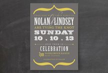Invites / by Kirsta Silvey