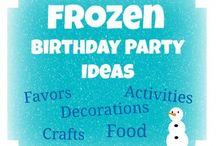 Frozen Party / by Brandi Eggers