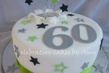 Cakes - 60th Birthday / by Therese Scribner