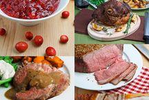 Thanksgiving - Main Courses / by Rachel Wormhoudt-Butler