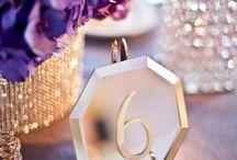 Events & Weddings - Table Numbers / by ID BOHEMIA | Christina Ignacio-Deines
