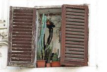 Windows (strange habbit) / I got this strange habbit to take pictures of windows... / by Eveline Mos