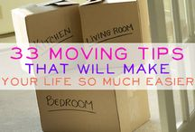 Moving Tips / by Katherine Ringo
