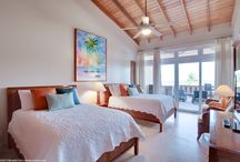 Villa del Mar / This spacious beachfront villa offers a stunning combination of luxurious features and breathtaking views of the Caribbean Sea and Belize Barrier Reef / by Belizean Cove Estates