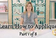 how to applique / by Barbara Switzer
