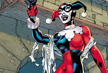 Harley Quinn / Love makes us do crazy things. And for the bubbly and psychotic Harley Quinn, that includes dressing in costume and becoming a super-villain. / by DC Comics