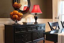 dining room ideas / by Nancy Hubbard-Shingler