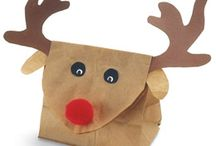 preschool holiday gift bag / by Nikki Welch
