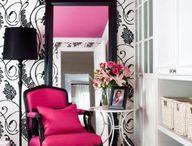 My new office/makeup room / by Jennifer Lett-Jenkins