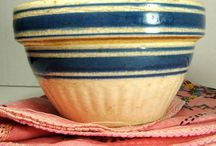 Kitchen, Lovley Old Bowls / by Benita Wykert