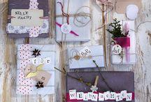Geschenkverpackungen / by Sabrina Grambow