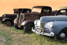 Antique cars & trucks / by Ginger Alonzo