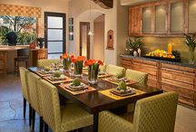 dining room / by Michelle Wimer