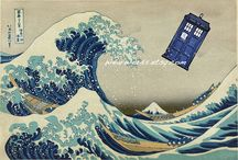 What is the plural of TARDIS? / TARDISes? TARDIi? Regardless, this board is an exploration of the time-travelling police box as a design icon. / by Holly Murdock