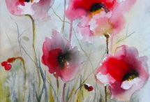 Art watercolors / by Billy and Beth Busby Silverhawk
