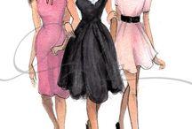 Ilustraciones de moda / by María Isabel Caballero