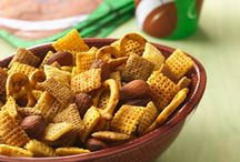 Game Day Treats / Try out one of our easy Chex Party Mix recipes for the perfect game day snack! We're certain your guests will be wowed and you'll be thrilled by their simplicity.  / by Chex