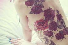 tattoo inspo / inspiration for thigh piece design and calf design ect / by peach