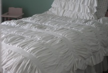 bedding / by Marie {Blooming Homestead}