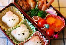 Bento / Because everyone should find visual delight in the foods packed in their lunch box. / by Diane Willis