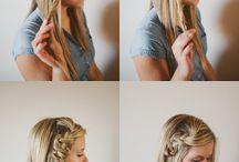 Easy Braided Hair / by reasonstodress