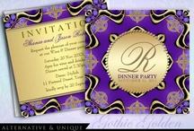 Dinner Party | Event Theme / Customizable Dinner Party Invitations / by Webgrrl.Biz