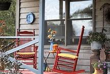 Porch Ideas / by Danielle Gaerte