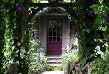 Garden Gates Swings Doorways and Sit Upons / by Kat Jones