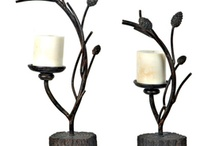 Candle Holders / Unique Candle Holders, Shop online at www.waughinteriordesigns.com / by Waugh Interior Designs