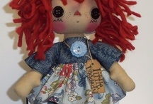 Dolls and stuffed animals  / by Stacy Fussi