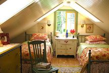 Attic Rooms / by Between Naps On the Porch
