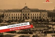 La Catalunya en peu: 80 anys de Parlament / by Expovirtual @bibliolloret