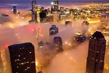 Chicago - yesterday and today / by SJ Rzeminski