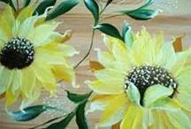 Painting, one stroke / by Winnie Adams