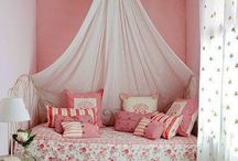 Girly girls' rooms  / by Trina Cokinos